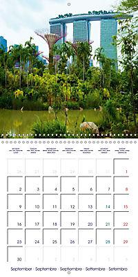 Singapore Garden City (Wall Calendar 2019 300 × 300 mm Square) - Produktdetailbild 9