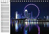 Singapur. Impressionen (Tischkalender 2019 DIN A5 quer) - Produktdetailbild 11