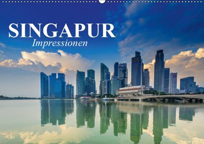 Singapur. Impressionen (Wandkalender 2019 DIN A2 quer), Elisabeth Stanzer
