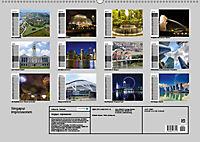Singapur. Impressionen (Wandkalender 2019 DIN A2 quer) - Produktdetailbild 13