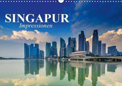Singapur. Impressionen (Wandkalender 2019 DIN A3 quer), Elisabeth Stanzer