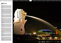 Singapur. Impressionen (Wandkalender 2019 DIN A3 quer) - Produktdetailbild 4
