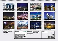 Singapur. Stadt der Superlative (Wandkalender 2019 DIN A2 quer) - Produktdetailbild 13