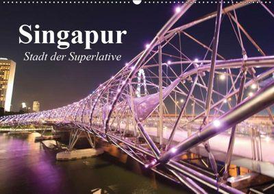 Singapur. Stadt der Superlative (Wandkalender 2019 DIN A2 quer), Elisabeth Stanzer