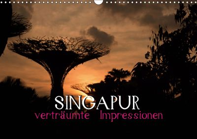 Singapur - verträumte Impressionen (Wandkalender 2019 DIN A3 quer), Daniel Stewart Lustig