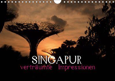 Singapur - verträumte Impressionen (Wandkalender 2019 DIN A4 quer), Daniel Stewart Lustig