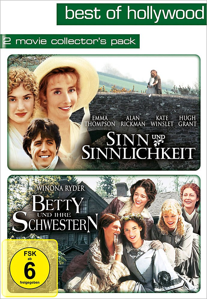 Sinn Und Sinnlichkeit Betty Und Ihre Schwestern Dvd