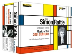 Sir Simon Rattle dirigiert und erkundet Musik des 20. Jahrhunderts DVD-Box, Sir Simon Rattle, City Of Birmingham So