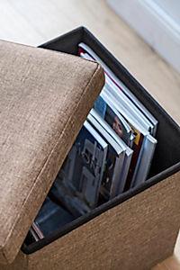 Sitzhocker mit Stauraum - Produktdetailbild 2