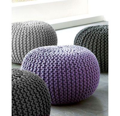 sitzkissen knitting farbe flieder bestellen. Black Bedroom Furniture Sets. Home Design Ideas