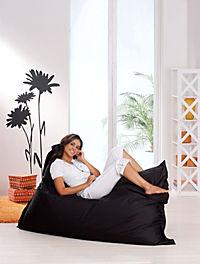 """Sitzsack """"Big Bag"""" (Farbe: schwarz) - Produktdetailbild 1"""