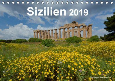 Sizilien 2019 (Tischkalender 2019 DIN A5 quer), Jörg Dauerer
