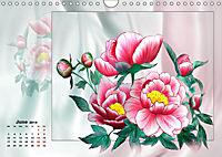 Sketches of flowers (Wall Calendar 2019 DIN A4 Landscape) - Produktdetailbild 6