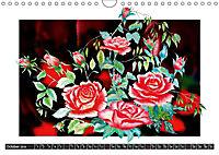 Sketches of flowers (Wall Calendar 2019 DIN A4 Landscape) - Produktdetailbild 10