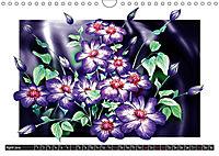 Sketches of flowers (Wall Calendar 2019 DIN A4 Landscape) - Produktdetailbild 4