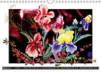 Sketches of flowers (Wall Calendar 2019 DIN A4 Landscape) - Produktdetailbild 3