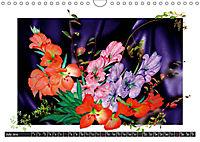 Sketches of flowers (Wall Calendar 2019 DIN A4 Landscape) - Produktdetailbild 7
