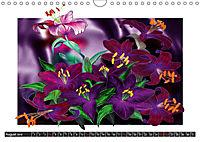 Sketches of flowers (Wall Calendar 2019 DIN A4 Landscape) - Produktdetailbild 8