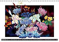 Sketches of flowers (Wall Calendar 2019 DIN A4 Landscape) - Produktdetailbild 9