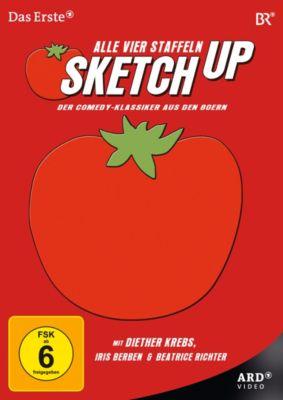 Sketchup - Alle vier Staffeln, Franz Xaver Bogner, Alfred Brodmann, Peter Frankenfeld, Karlheinz Freynik, Hans Gamber, John J. Hackbarth, Rochus Hahn, Reiner Lücker, Thomas Schlosser