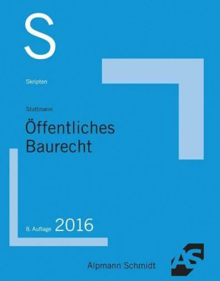 Skript Öffentliches Baurecht, Martin Stuttmann