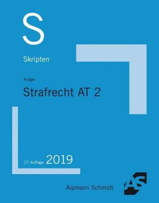Skript Strafrecht AT - Rolf Krüger |
