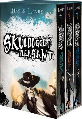 Skulduggery Pleasant, 3 Bde., Derek Landy