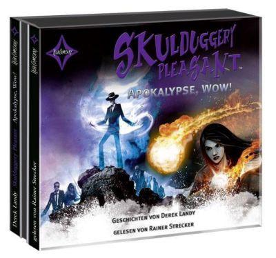 Skulduggery Pleasant - Apokalypse, Wow!, 3 Audio-CDs, Derek Landy