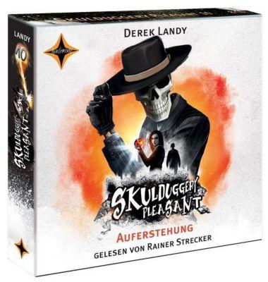 Skulduggery Pleasant - Auferstehung, 8 Audio-CDs, Derek Landy
