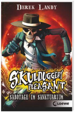 Skulduggery Pleasant Band 4: Sabotage im Sanktuarium, Derek Landy