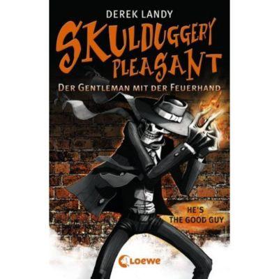Skulduggery Pleasant - Der Gentleman mit der Feuerhand, Derek Landy