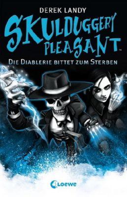 Skulduggery Pleasant - Die Diablerie bittet zum Sterben, Derek Landy
