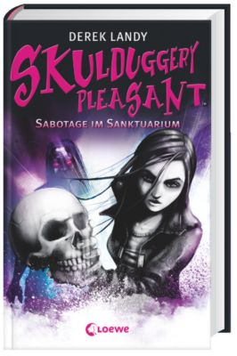 Skulduggery Pleasant - Sabotage im Sanktuarium, Derek Landy
