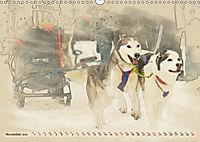 Sledgedogs 2019 / UK-Version (Wall Calendar 2019 DIN A3 Landscape) - Produktdetailbild 11