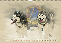 Sledgedogs 2019 / UK-Version (Wall Calendar 2019 DIN A3 Landscape) - Produktdetailbild 1