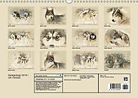 Sledgedogs 2019 / UK-Version (Wall Calendar 2019 DIN A3 Landscape) - Produktdetailbild 13