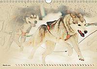 Sledgedogs 2019 / UK-Version (Wall Calendar 2019 DIN A4 Landscape) - Produktdetailbild 3