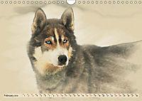 Sledgedogs 2019 / UK-Version (Wall Calendar 2019 DIN A4 Landscape) - Produktdetailbild 2