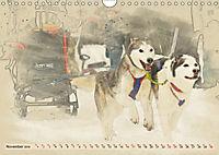 Sledgedogs 2019 / UK-Version (Wall Calendar 2019 DIN A4 Landscape) - Produktdetailbild 11