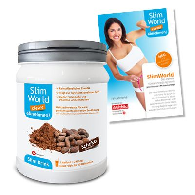 SlimWorld Drink Schoko, 500g von VitalWorld