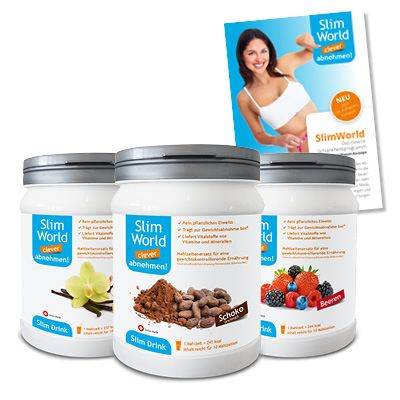 SlimWorld Drink Trio Pack assortiert von VitalWorld