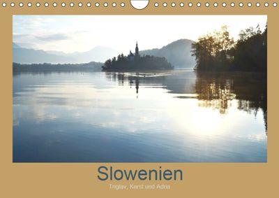 Slowenien - Triglav, Karst und Adria (Wandkalender 2019 DIN A4 quer), Fotokullt