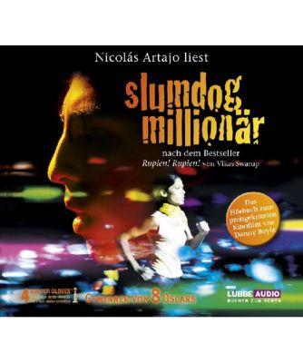 Slumdog Milionär - Rupien! Rupien!, 4 Audio-CDs, Vikas Swarup