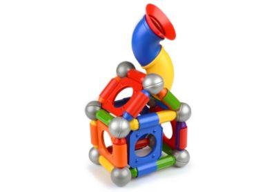 Smartmax Playground Xl 46-teilig Baukästen & Konstruktion Spielzeug Magnetspiel