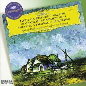 Smetana: The Moldau, Vysehrad / Liszt: Les Préludes, Mazeppa, Hungarian Rhapsody No.4, Herbert von Karajan, Bp