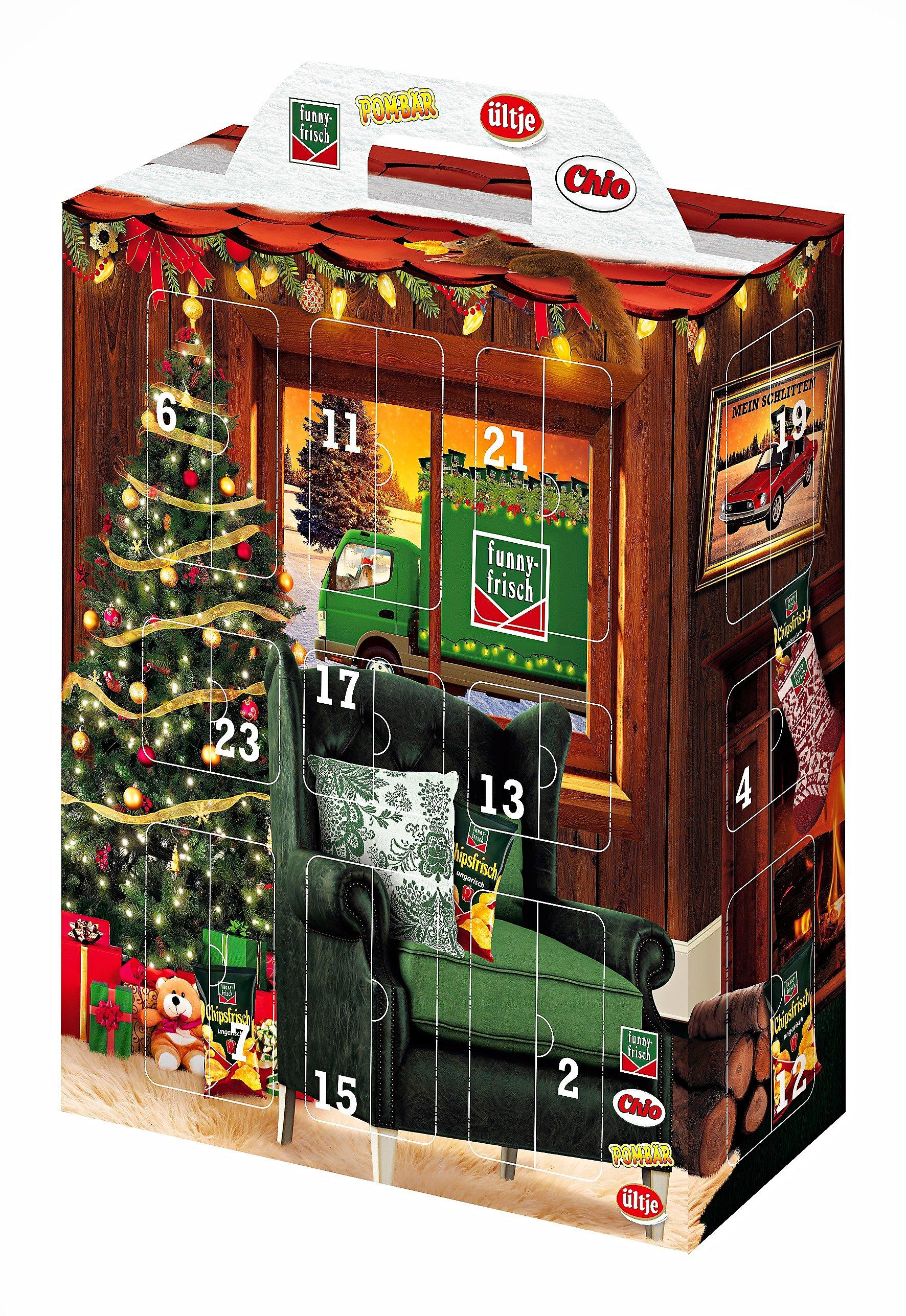 Snack-Adventskalender Funny-Frisch & Chio & Ültje - Kalender bestellen