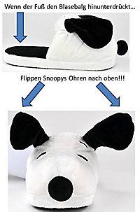 """Snoopy Hausschuhe mit """"Pump up"""" Funktion Größe M 38/40 - Produktdetailbild 4"""
