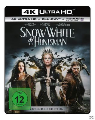 Snow White & the Huntsman Extended Edition, Charlize Theron,Chris Hemsworth Kristen Stewart