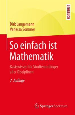 So einfach ist Mathematik, Vanessa Sommer, Dirk Langemann