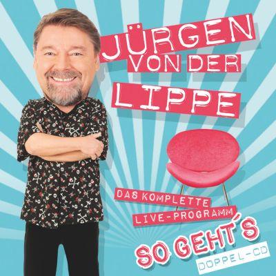 So geht's, 2 Audio-CDs, Jürgen von der Lippe